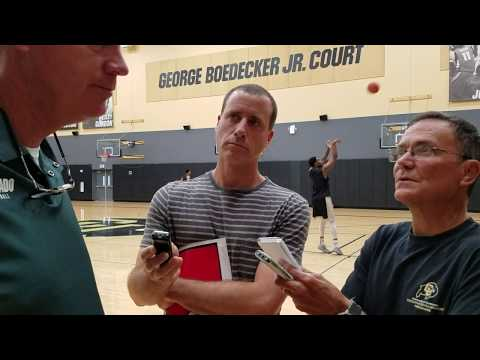 Tad Boyle media session June 25th