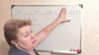 единицы измерения  длины 7 урок
