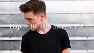 Zach Herron | Stay (Happy 16th Birthday Zach!)