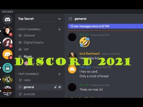 Discord Servers 2021