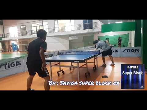 Preview NewLong Pimple 2021 '' Saviga Super Block OX '' ITTF Approved