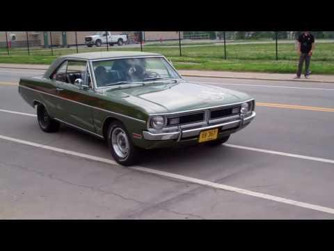 Cars leaving Fuel Cars & Coffee Cincinnati 5/28/16