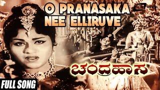 Download Hindi Video Songs - Chandrahasa |O Pranasaka Nee Elliruve|FEAT. Dr Rajkumar, Udayakumar