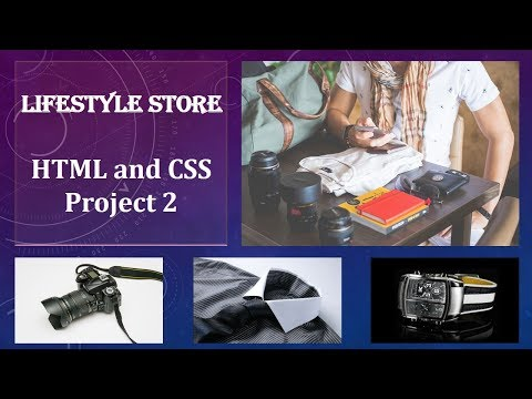 Lifestyle Store   HTML And CSS Project 2