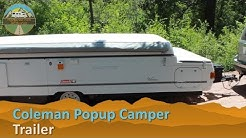 RV Rental Reviews Coleman Popup Trailer Camper Hire