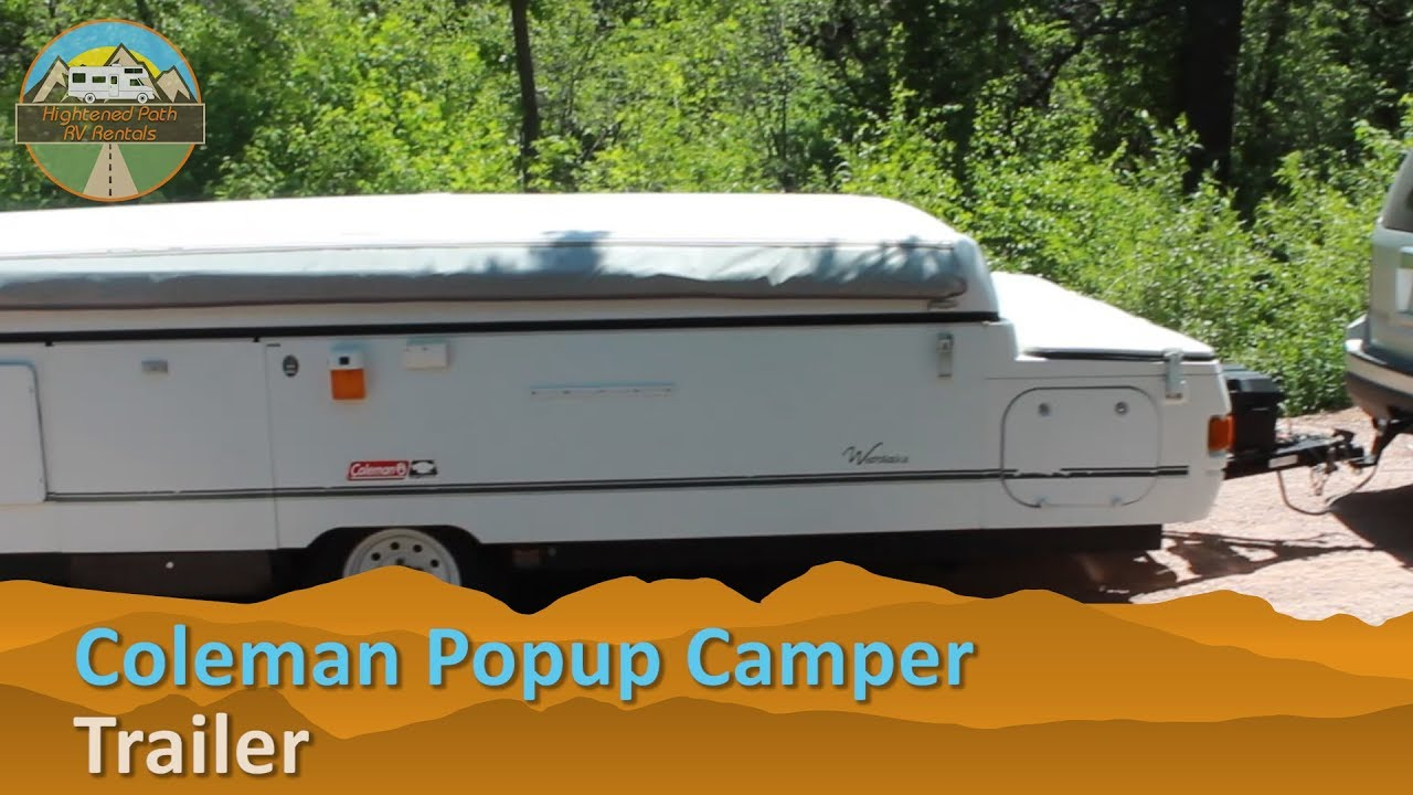 2002 Coleman Westlake Popup Folding Camper RV Rental