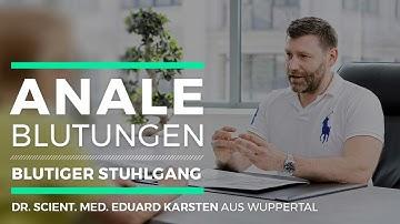 Anale Blutungen | Blutiger Stuhlgang - Dr. Eduard Karsten