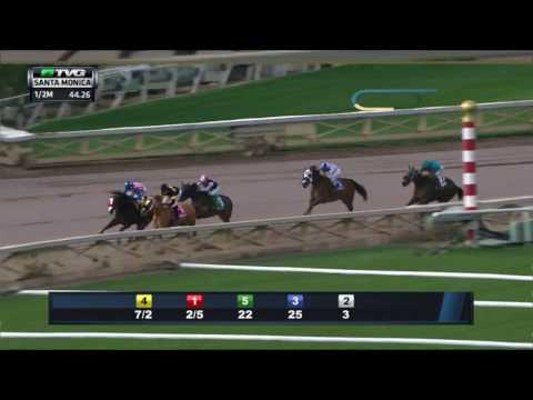 RACE REPLAY: 2017 Santa Monica Stakes Featuring Finest City