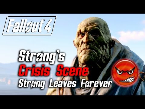 Fallout 4 - Strong's Crisis Scene (Strong Leaves Due to Low Approval)