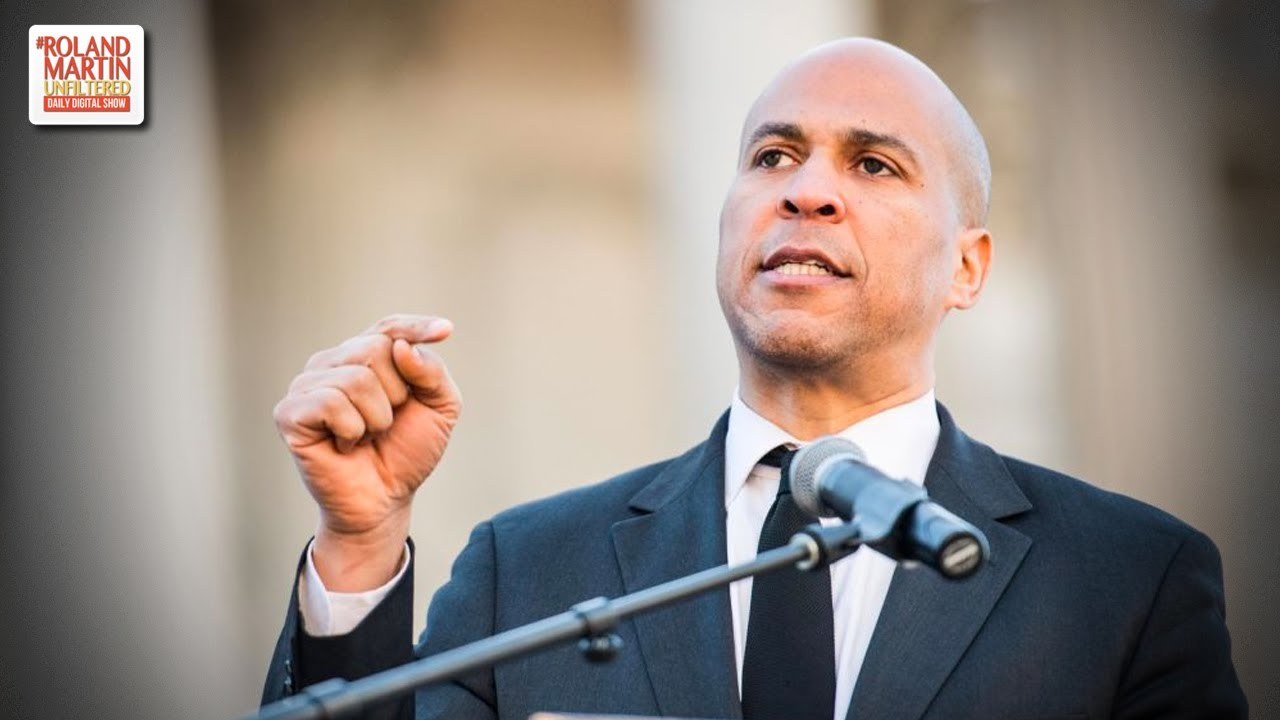Cory Booker wants to study white supremacy and he'll probably be disappointed when he does