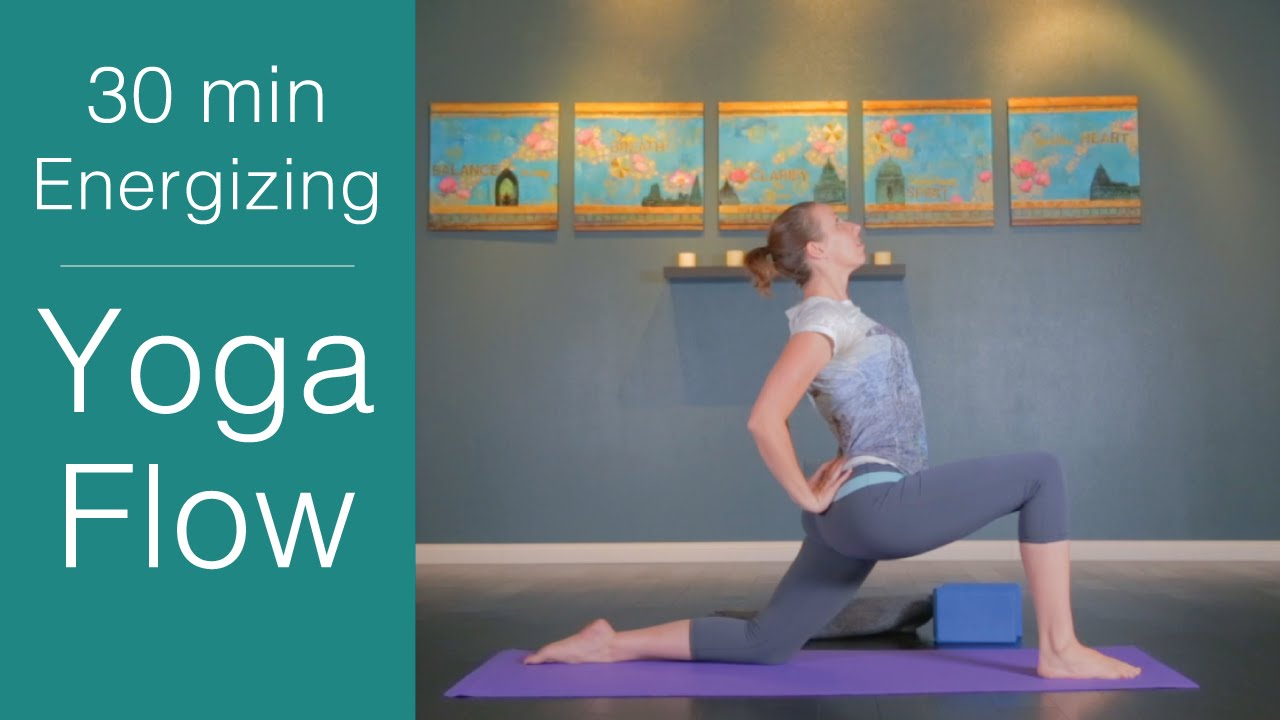 Vinyasa Yoga: 30 minute Energizing Yoga Flow