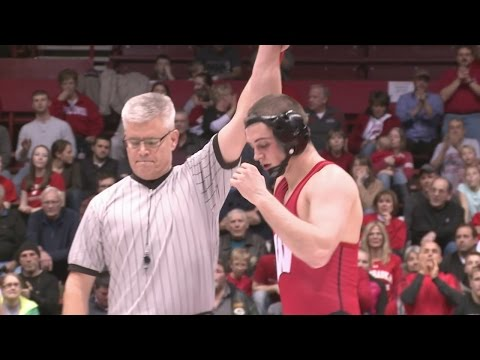 Athlete of the Week: Badger wrestler Isaac Jordan