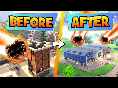 Fortnite SEASON 4: 6 THINGS YOU DIDN'T KNOW About The METEORITE! - Is Tilted Safe In Battle Royale?