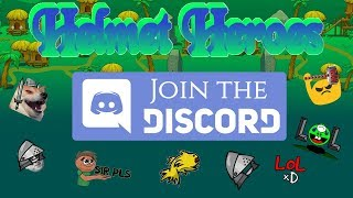 The Helmet Heroes Discord Server! | A Short Showcase |