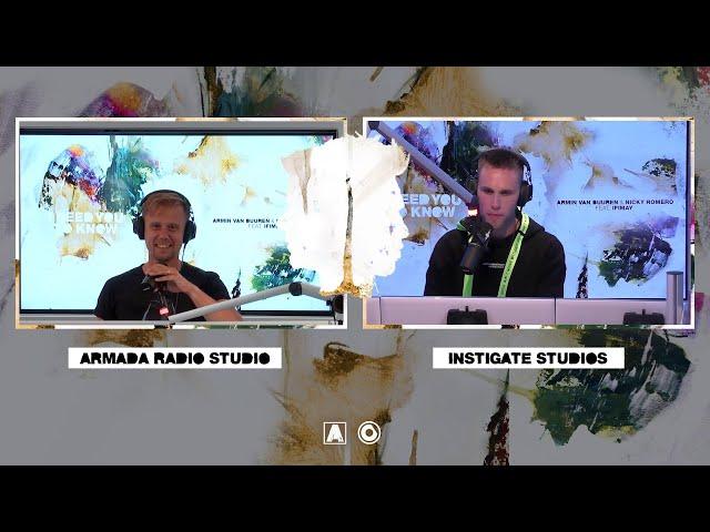 Armin van Buuren & Nicky Romero - B2B Livestream