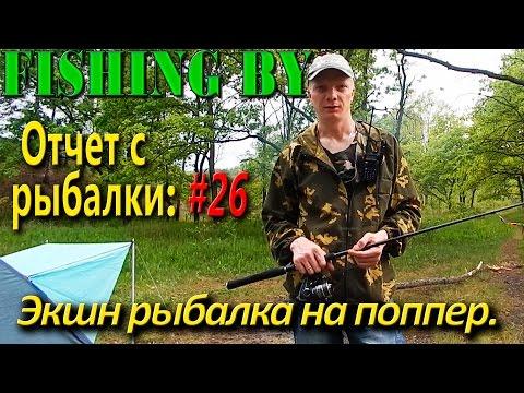 #27 Ловля щуки и окуня на поппер.