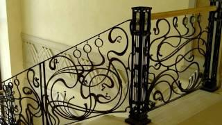 видео кованые лестницы