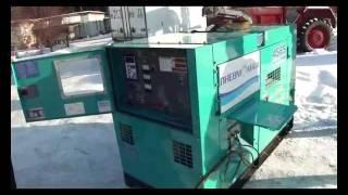 видео Дизельная электростанция Denyo DCA-45SPI