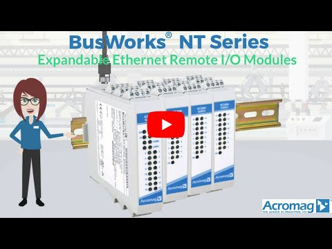 BusWorks® NT Series Expandable Ethernet Remote I/O | Acromag Video