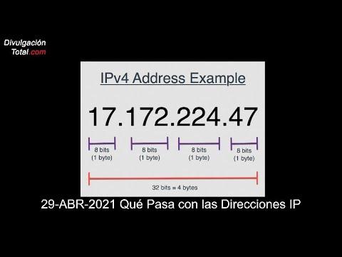 29-ABR-2021 Qué Pasa con las Direcciones IP