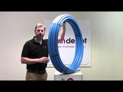 25mm Blue MDPE Water Pipe