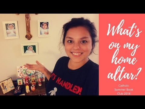 My Home Altar | Catholic Summer Book Club