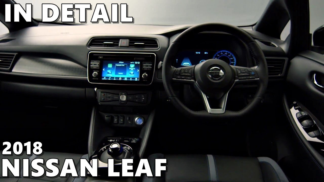 New 2018 Nissan Leaf Exterior Interior Detailed Look