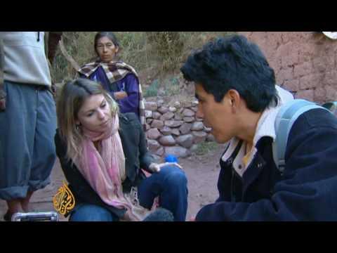 Peru struggles with rising temperatures - 11 Oct 09