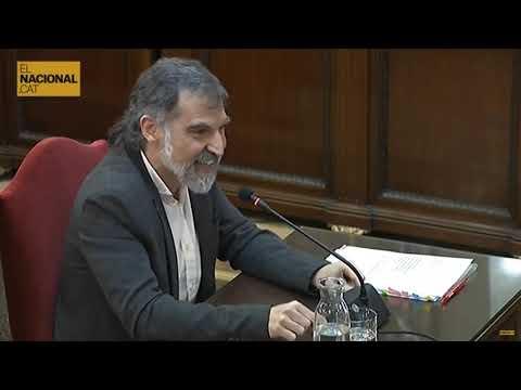 JUDICI PROCÉS | Cuixart planta cara al fiscal: 'Es que no le gustan mis respuestas'