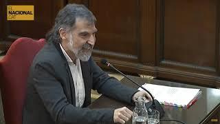 JUDICI PROCÉS | Cuixart planta cara al fiscal: