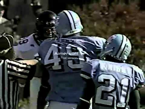 Wake Forest vs UNC Football Julius Peppers and Ray Thomas square off.mp4