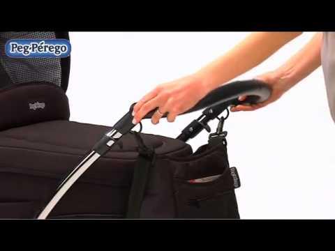 Обзор детской коляски Peg Perego Culla (Пег Перего Кулла) - YouTube