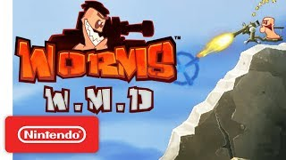 Worms W.M.D Launch Trailer - Nintendo Switch