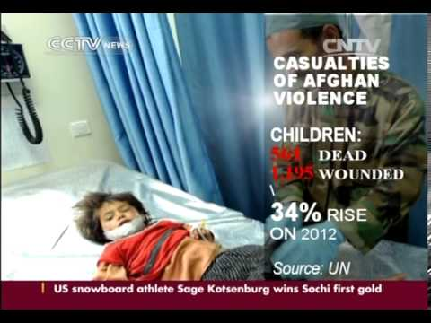 UN report: Nearly 3,000 civilians killed in Afghanistan in 2013 by NATO, Paki-Punjabi ISI