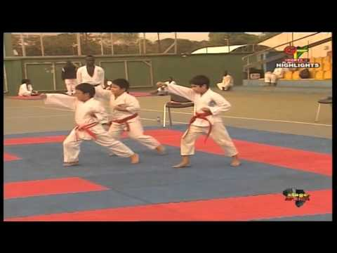 Stage Africa (20/11/15) Para Sports, Karate and football- Pa