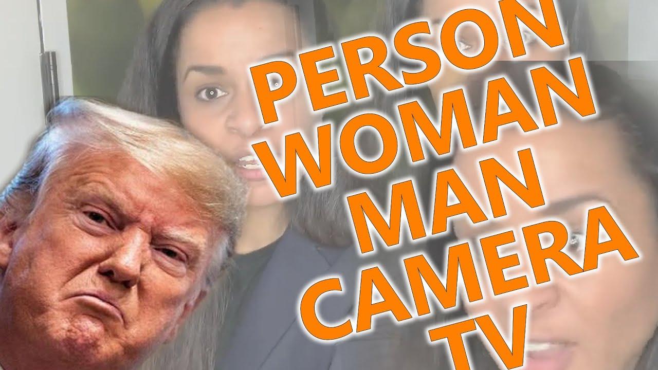 Trump - Person Woman Man Camera TV Song - (Sarah Cooper ...