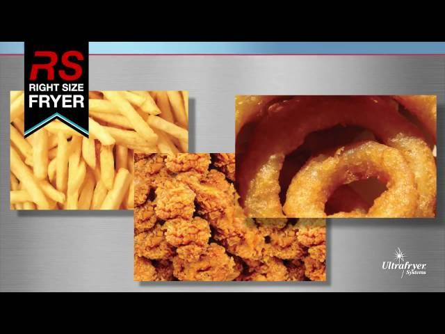 Ultrafryer Deep Fryers – The Right-Sized Fryer For Your Foodservice Business