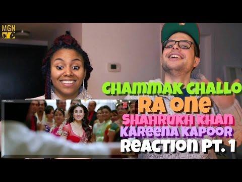 Chammak Challo Full Song Ra One  Shahrukh Khan  Kareena Kapoor Reaction Pt.1