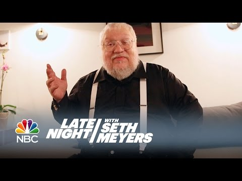 George R.R. Martin Judges Game of Thrones Fan Costumes - Late Night with Seth Meyers