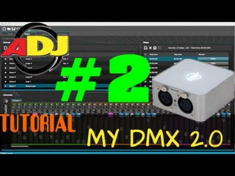 ADJ myDMX 2.0 - TUT Teil 2