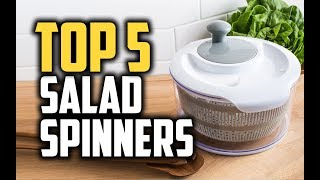 Best Salad Spinners in 2018 - Which Is The Best Salad Spinner?