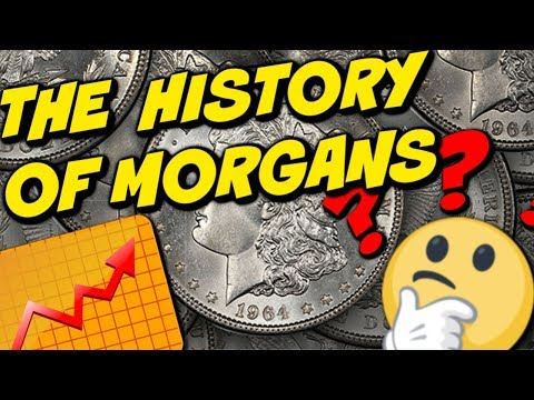 The History Of Morgan Silver Dollars