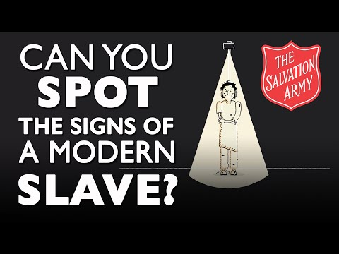 Can you spot the signs of a modern slave? | Human Trafficking