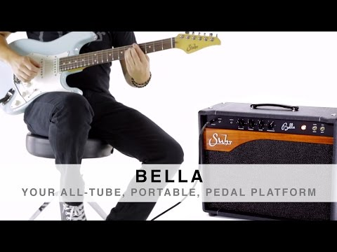SUHR BELLA™ - YOUR ALL-TUBE, PORTABLE, PEDAL PLATFORM