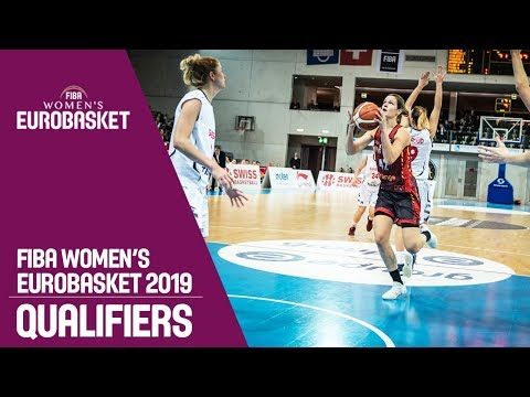 Switzerland v Belgium - Full Game - FIBA Women's EuroBasket 2019 Qualifiers