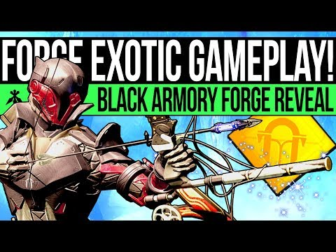 Destiny 2 | New EXOTIC GAMEPLAY! Lost Forge Reveal, DLC Weapons First Look & Volundr Relics!