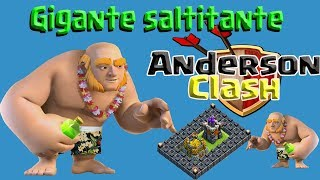 CLASH OF CLANS - CUMPRINDO O DESAFIO DO GIGANTE SALTITANTE