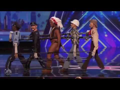 Топ 10 реакций зрителей на шоу Америка ищет таланты