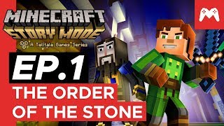 Minecraft: Story Mode - Episode 1: The Order of the Stone | Nintendo Switch Gameplay
