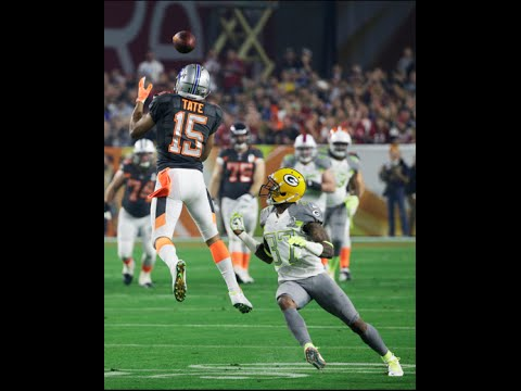 Richard Sherman and Earl Thomas reacts to Golden Tate in 2015 Pro Bowl